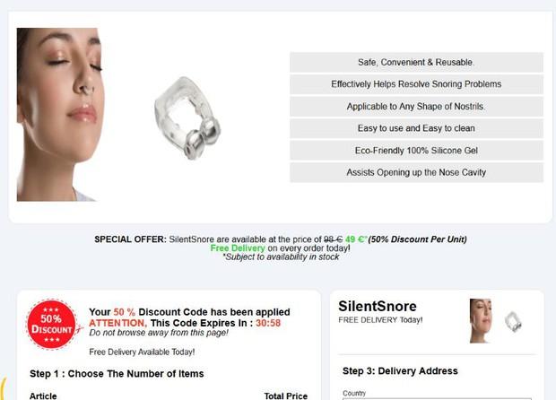 silent snore reviews
