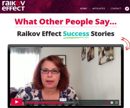 Raikov Effect Review