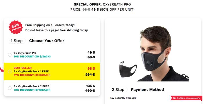 order OxyBreath Pro