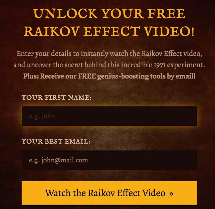 order Raikov Effect