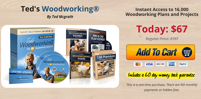order ted's woodworking
