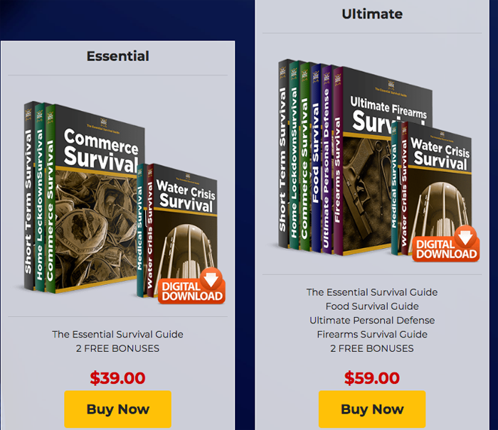 Ultimate Survival Code price