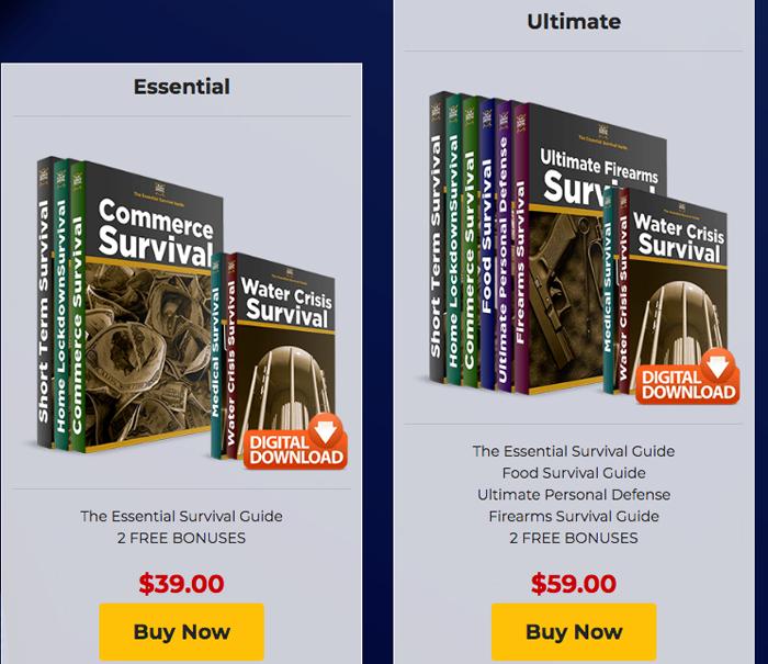 Ultimate Survival Code price